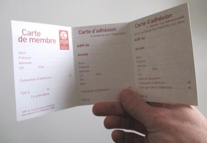carte adhésion adm