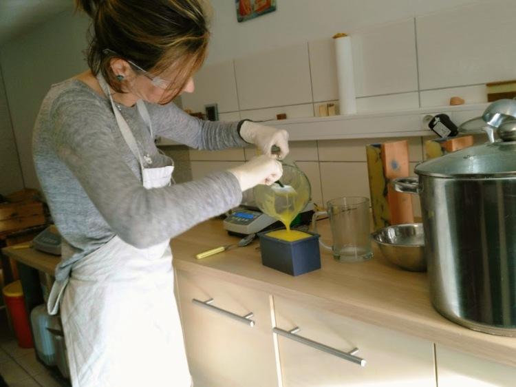 La préparation du savon 2